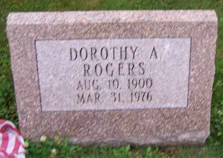 ROGERS, DOROTHY A. - Stark County, Ohio | DOROTHY A. ROGERS - Ohio Gravestone Photos