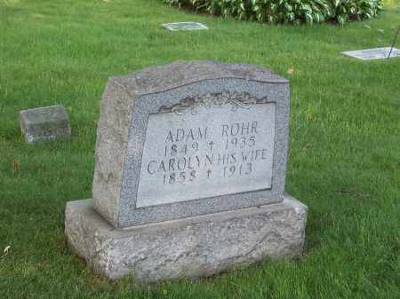 ROHR, CAROLYN - Stark County, Ohio | CAROLYN ROHR - Ohio Gravestone Photos
