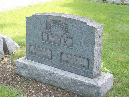 ROHR, ADAM C. - Stark County, Ohio | ADAM C. ROHR - Ohio Gravestone Photos