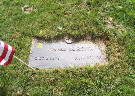 ROHR, ALBERT M. - Stark County, Ohio | ALBERT M. ROHR - Ohio Gravestone Photos