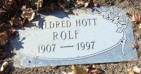ROLF, MILDRED HOTT - Stark County, Ohio | MILDRED HOTT ROLF - Ohio Gravestone Photos