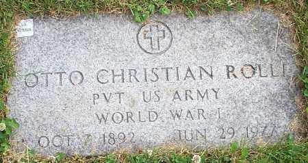 ROLLI, OTTO CHRISTIAN - Stark County, Ohio | OTTO CHRISTIAN ROLLI - Ohio Gravestone Photos