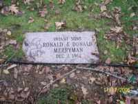 DONALD, MERRYMAN - Stark County, Ohio | MERRYMAN DONALD - Ohio Gravestone Photos