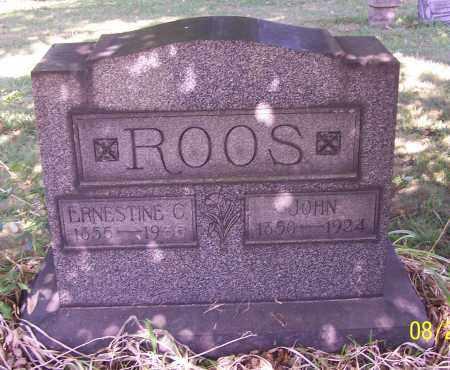 ROOS, JOHN - Stark County, Ohio | JOHN ROOS - Ohio Gravestone Photos
