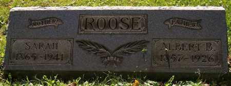 ROOSE, SARAH - Stark County, Ohio | SARAH ROOSE - Ohio Gravestone Photos
