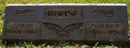 IMMEL ROOSE, SARAH - Stark County, Ohio | SARAH IMMEL ROOSE - Ohio Gravestone Photos