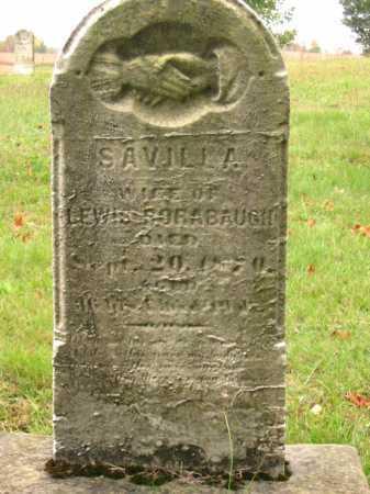 RORABAUGH, SAVILLA - Stark County, Ohio | SAVILLA RORABAUGH - Ohio Gravestone Photos