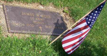 ROSE, JAMES M. - Stark County, Ohio | JAMES M. ROSE - Ohio Gravestone Photos