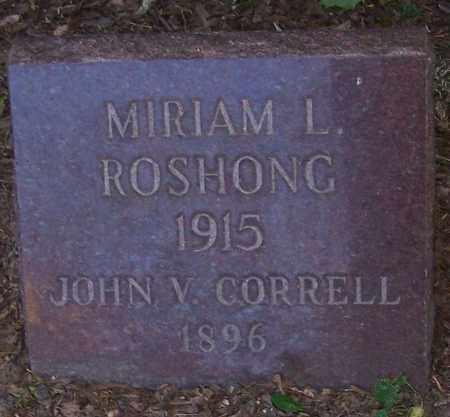 ROSHONG, MIRIAM L. - Stark County, Ohio | MIRIAM L. ROSHONG - Ohio Gravestone Photos