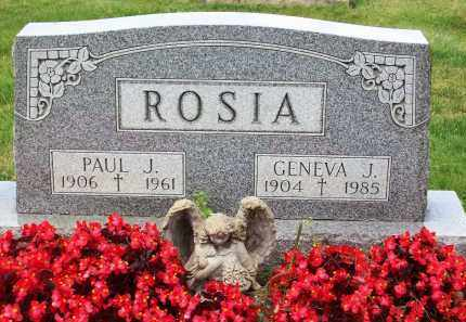 ROSIA, PAUL J. - Stark County, Ohio | PAUL J. ROSIA - Ohio Gravestone Photos