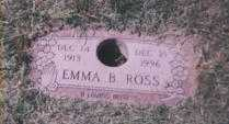 MEADE ROSS, EMMA B. - Stark County, Ohio | EMMA B. MEADE ROSS - Ohio Gravestone Photos