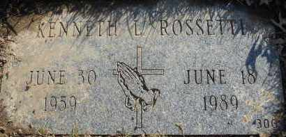 ROSSETTI, KENNETH LEE - Stark County, Ohio | KENNETH LEE ROSSETTI - Ohio Gravestone Photos