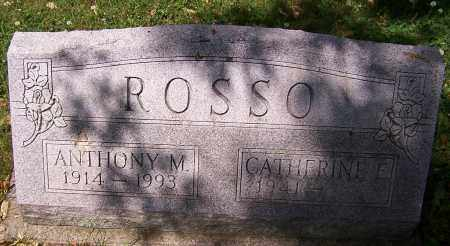 ROSSO, CATHERINE E. - Stark County, Ohio | CATHERINE E. ROSSO - Ohio Gravestone Photos