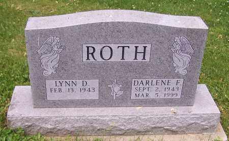 ROTH, DARLENE E. - Stark County, Ohio | DARLENE E. ROTH - Ohio Gravestone Photos