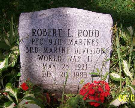 ROUD, ROBERT L. - Stark County, Ohio | ROBERT L. ROUD - Ohio Gravestone Photos