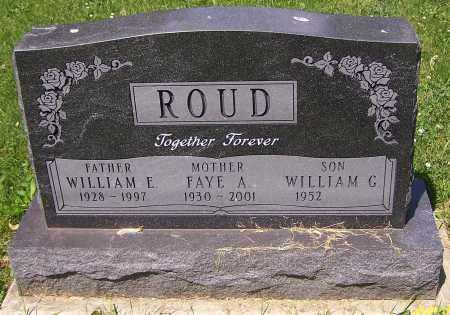 ROUD, WILLIAM G. - Stark County, Ohio | WILLIAM G. ROUD - Ohio Gravestone Photos