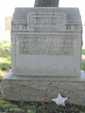 ROUDABUSH, JOHN - Stark County, Ohio | JOHN ROUDABUSH - Ohio Gravestone Photos