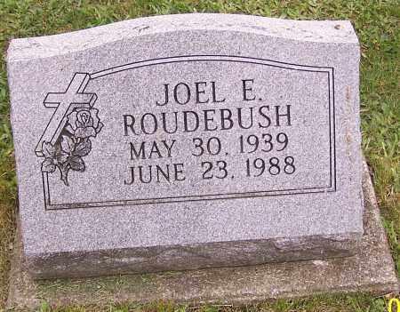 ROUDEBUSH, JOEL E. - Stark County, Ohio | JOEL E. ROUDEBUSH - Ohio Gravestone Photos
