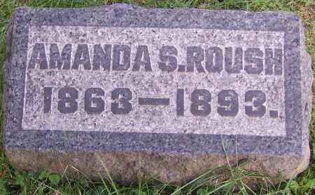 ROUSH, AMANDA S. - Stark County, Ohio | AMANDA S. ROUSH - Ohio Gravestone Photos