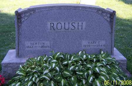 ROUSH, NEWTON - Stark County, Ohio | NEWTON ROUSH - Ohio Gravestone Photos