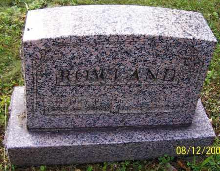 ROWLAND, HENRY R. - Stark County, Ohio | HENRY R. ROWLAND - Ohio Gravestone Photos