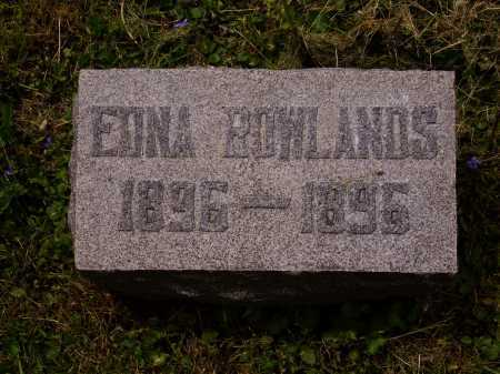 ROWLANDS, EDNA - Stark County, Ohio | EDNA ROWLANDS - Ohio Gravestone Photos