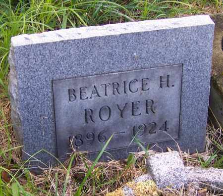 HINES ROYER, BEATRICE H. - Stark County, Ohio | BEATRICE H. HINES ROYER - Ohio Gravestone Photos