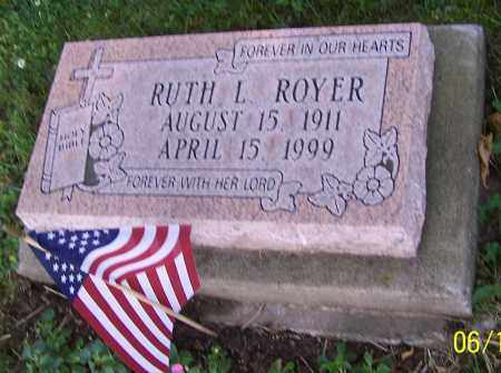 ROYER, RUTH L. - Stark County, Ohio | RUTH L. ROYER - Ohio Gravestone Photos