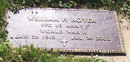 ROYER, WILLIAM H.  (MIL) - Stark County, Ohio | WILLIAM H.  (MIL) ROYER - Ohio Gravestone Photos