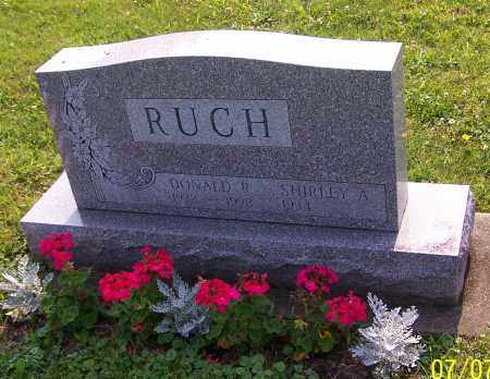 RUCH, SHIRLEY A. - Stark County, Ohio | SHIRLEY A. RUCH - Ohio Gravestone Photos