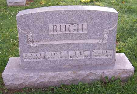 RUCH, GRACE L. - Stark County, Ohio | GRACE L. RUCH - Ohio Gravestone Photos