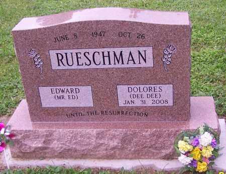 RUESCHMAN, DOLORES  (DEE DEE) - Stark County, Ohio | DOLORES  (DEE DEE) RUESCHMAN - Ohio Gravestone Photos