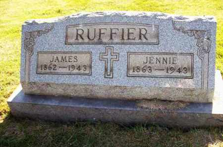 RUFFIER, JENNIE - Stark County, Ohio | JENNIE RUFFIER - Ohio Gravestone Photos