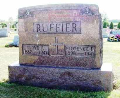 RUFFIER, LLOYD - Stark County, Ohio | LLOYD RUFFIER - Ohio Gravestone Photos