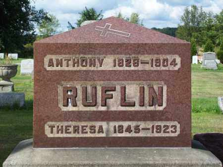 RUFLIN, THERESA - Stark County, Ohio | THERESA RUFLIN - Ohio Gravestone Photos