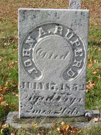 RUPERD, JOHN A - Stark County, Ohio | JOHN A RUPERD - Ohio Gravestone Photos