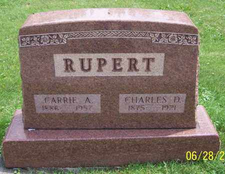 RUPERT, CARRIE A. - Stark County, Ohio | CARRIE A. RUPERT - Ohio Gravestone Photos