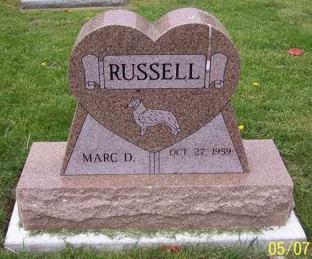 RUSSELL, MARC D. - Stark County, Ohio | MARC D. RUSSELL - Ohio Gravestone Photos