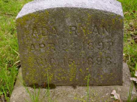 RYAN, ADA - Stark County, Ohio | ADA RYAN - Ohio Gravestone Photos