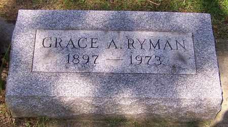 RYMAN, GRACE A. - Stark County, Ohio | GRACE A. RYMAN - Ohio Gravestone Photos