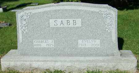 SABB, EVELYN - Stark County, Ohio | EVELYN SABB - Ohio Gravestone Photos