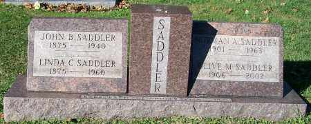 SADDLER, NORMAN A. - Stark County, Ohio | NORMAN A. SADDLER - Ohio Gravestone Photos