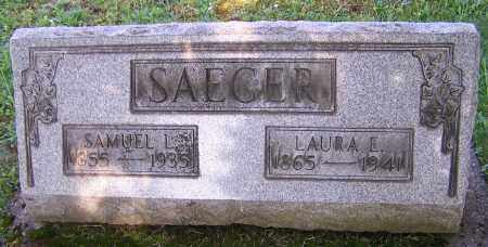 SAEGER, LAURA E. - Stark County, Ohio | LAURA E. SAEGER - Ohio Gravestone Photos