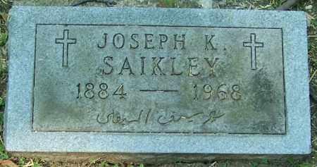 SAIKLEY, JOSEPH K. - Stark County, Ohio | JOSEPH K. SAIKLEY - Ohio Gravestone Photos