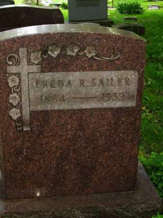 SAILER, FREDA R. - Stark County, Ohio | FREDA R. SAILER - Ohio Gravestone Photos