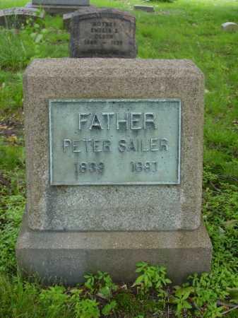 SAILER, PETER - Stark County, Ohio | PETER SAILER - Ohio Gravestone Photos