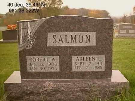 SALMON, ROBERT WILLIAM - Stark County, Ohio | ROBERT WILLIAM SALMON - Ohio Gravestone Photos