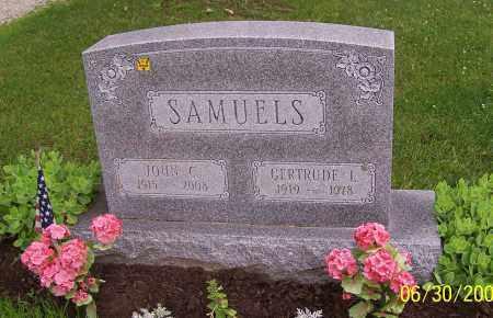 SAMUELS, GERTRUDE L. - Stark County, Ohio | GERTRUDE L. SAMUELS - Ohio Gravestone Photos