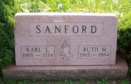 SANFORD, RUTH M. - Stark County, Ohio | RUTH M. SANFORD - Ohio Gravestone Photos