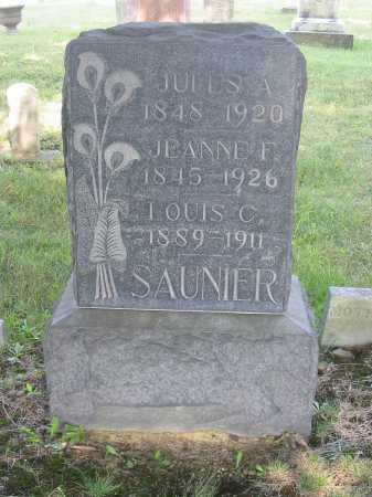 SAUNIER, LOUIS C - Stark County, Ohio | LOUIS C SAUNIER - Ohio Gravestone Photos